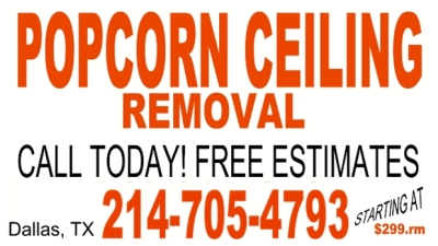 Dallas Popcorn Removal
